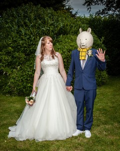 Kent Wedding, Rupert Bear