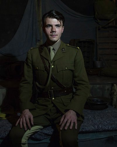Alex Phelps in Journey's End.