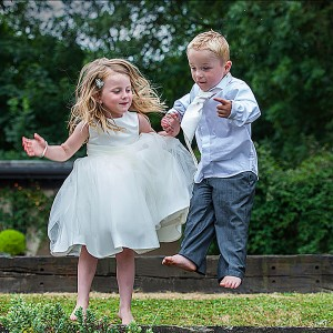Jump For Joy Wedding
