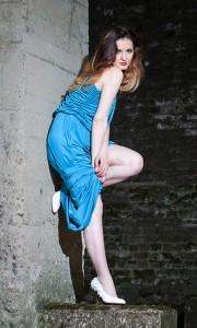 Classic Blue Dress